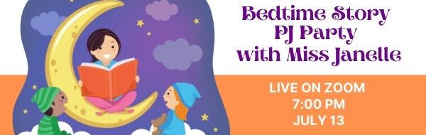 Bedtime Story PJ Party